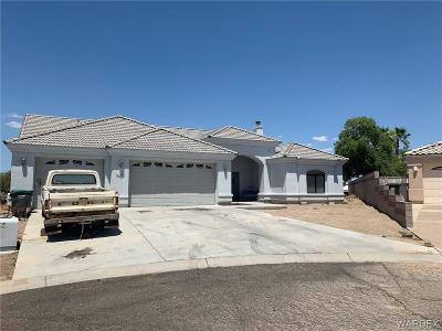 Fort Mohave Single Family Home For Sale: 2423 Nez Perce Court
