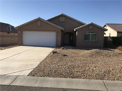 Fort Mohave Single Family Home For Sale: 1629 E Rinaldi Way