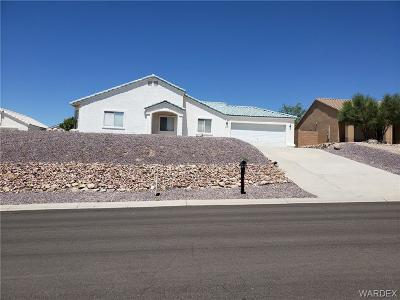 Bullhead AZ Single Family Home For Sale: $195,000