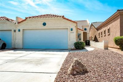 Bullhead Single Family Home For Sale: 1590 Country Club Way
