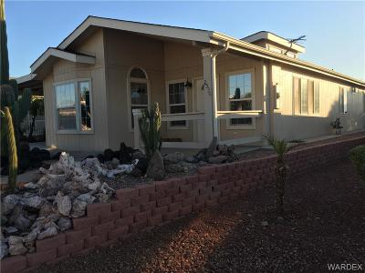 Bullhead Manufactured Home For Sale: 2534 Mountain Crest Drive