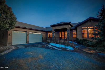 Overgaard Single Family Home For Sale: 2765 Airpark