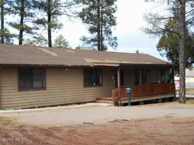 Lakeside AZ Single Family Home For Sale: $289,000