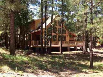 Pinetop Single Family Home For Sale: 4927 Night Hawk Loop