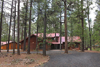 Pinetop Single Family Home For Sale: 7228 Country Club Drive