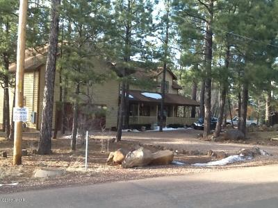 Pinetop Single Family Home For Sale: 3090 Mark Twain Drive
