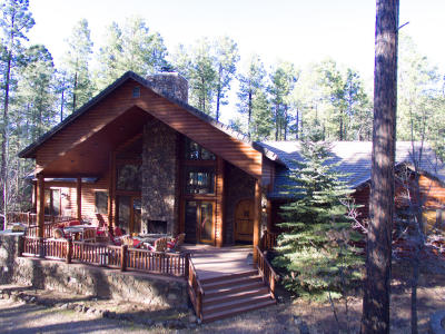 Pinetop Single Family Home For Sale: 2552 Jackrabbit Drive