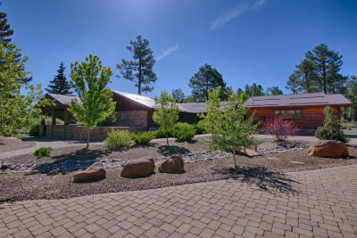 Pinetop Single Family Home For Sale: 9533 Sierra Springs