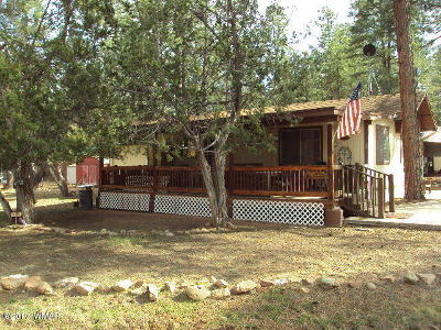 Overgaard AZ Manufactured Home For Sale: $85,000