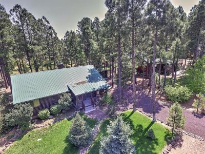 Overgaard Single Family Home For Sale: 2723 Bain Trail