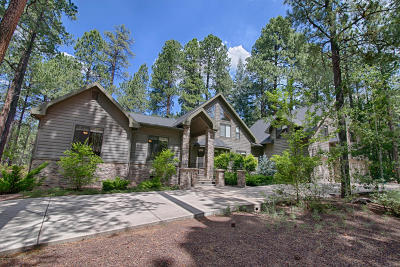 Pinetop Single Family Home For Sale: 3142 Lakeview Drive