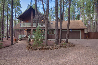Pinetop AZ Single Family Home For Sale: $398,000