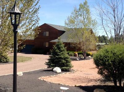 Overgaard Single Family Home For Sale: 2739 Trevor Way
