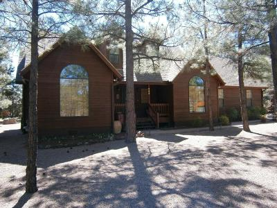Lakeside Single Family Home For Sale: 885 E Pine Creek Drive