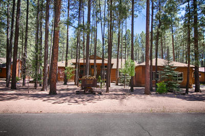 Pinetop Single Family Home For Sale: 7457 Geronimo Road