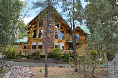 Pinetop Single Family Home For Sale: 901 Pine Village Lane