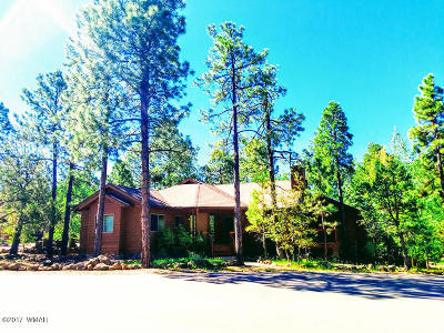 Pinetop Single Family Home For Sale: 2215 Vista Drive