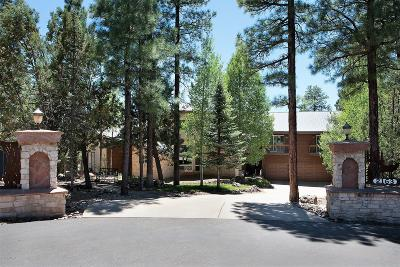 Pinetop Single Family Home For Sale: 2163 Creekside Court