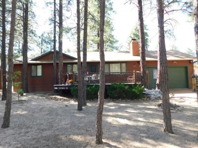 Overgaard Single Family Home For Sale: 2030 Moccasin Circle
