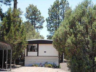 Overgaard AZ Manufactured Home For Sale: $74,900