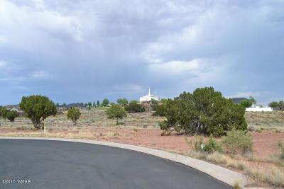 Snowflake Residential Lots & Land For Sale: Lot 18 Cliff Rose Court