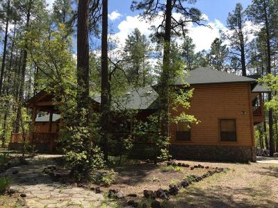 Pinetop Single Family Home For Sale: 2317 Jackrabbit Drive