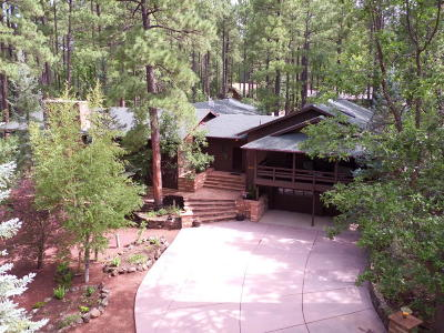 Pinetop Single Family Home For Sale: 3762 Country Club Drive