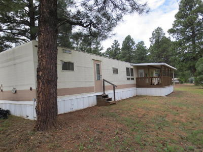 Overgaard AZ Manufactured Home For Sale: $45,000