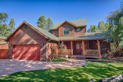 Pinetop Single Family Home For Sale: 536 E Oak Meadow Lane