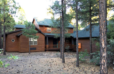 Show Low Single Family Home For Sale: 4120 Sugar Pine Loop