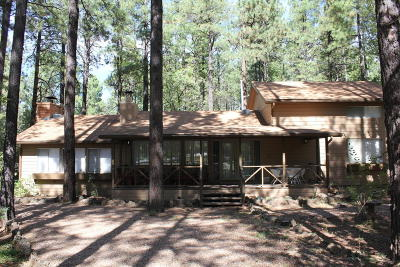 Navajo County Single Family Home For Sale: 3030 Aspen Loop