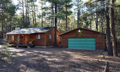 Navajo County Single Family Home For Sale: 2291 Homestead Road
