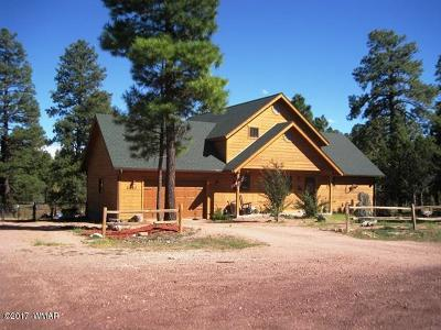 Overgaard AZ Single Family Home For Sale: $312,000