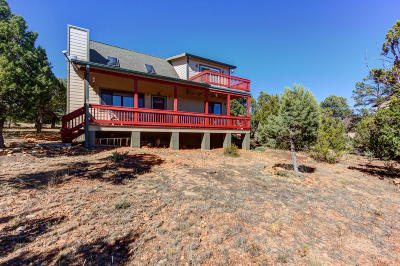 Heber Single Family Home For Sale: 1513 Low Mountain Trail