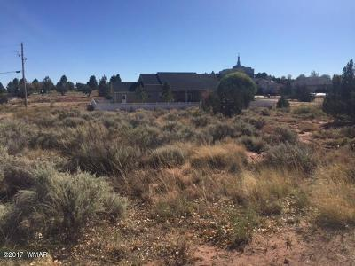 Snowflake Residential Lots & Land For Sale: Tbd S Hillcrest Drive
