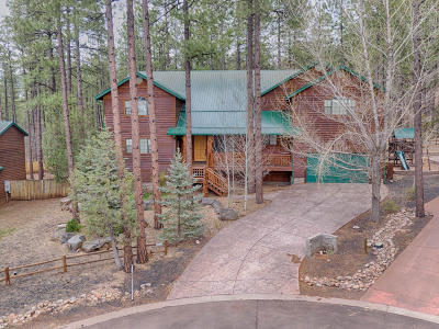 Pinetop Single Family Home For Sale: 647 E Oak Meadow Lane