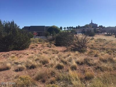 Snowflake Residential Lots & Land For Sale: 433 Hillcrest Drive