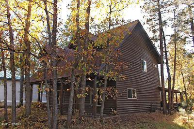 Pinetop Single Family Home For Sale: 3756 E. Bermuda Circle