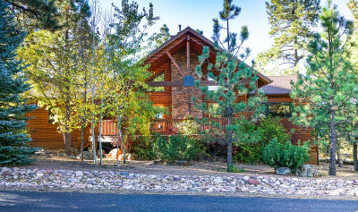 Pinetop Single Family Home For Sale: 2251 Snowflake Drive