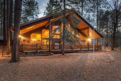 Pinetop Single Family Home For Sale: 3133 Woodpecker Lane