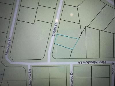 Overgaard Residential Lots & Land For Sale: 2275 Cabin Drive