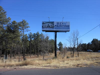 Lakeside Residential Lots & Land For Sale: 3168 Hwy 260