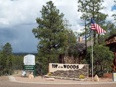 Pinetop Residential Lots & Land For Sale: 2393 S Aspen Run