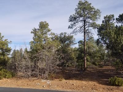 Show Low Residential Lots & Land For Sale: 4480 W Shaggybark Road
