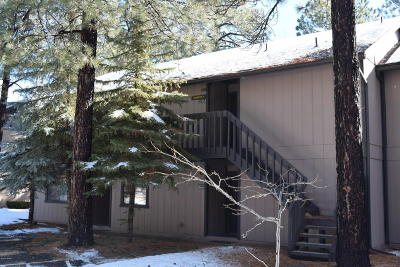 Navajo County Condo/Townhouse For Sale: 2734 Snow Slope Way
