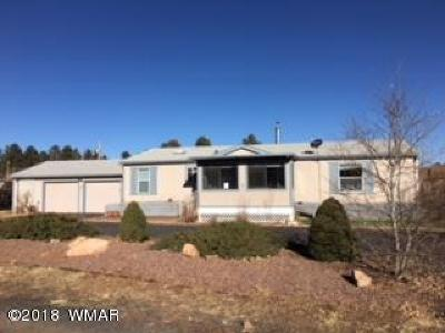 Navajo County Manufactured Home For Sale: 2136 Shell Canyon Road