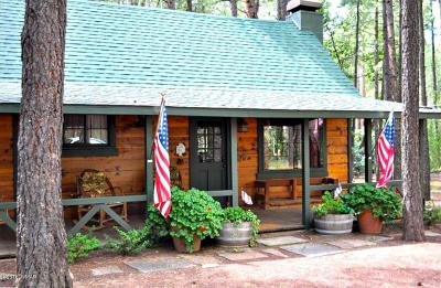 Pinetop Single Family Home For Sale: 3247 Ponderosa Parkway