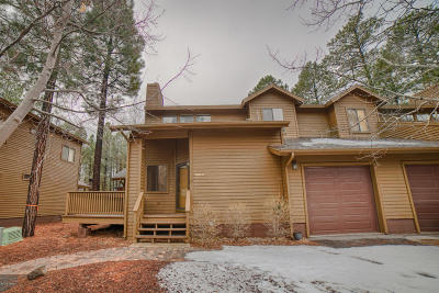 Pinetop Condo/Townhouse For Sale: 4493 Stone Pine Drive