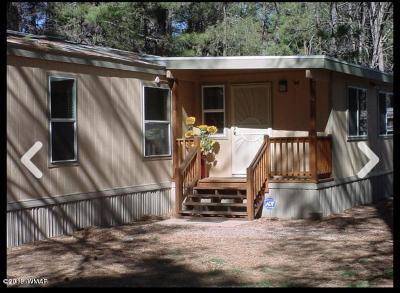 Pinetop Manufactured Home For Sale: 5232 S Blue Ridge Loop