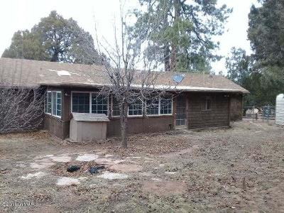 Overgaard Single Family Home For Sale: 2139 Bluejay Road Overgaard